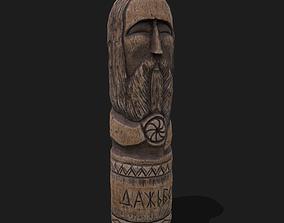 3D model Dazhbog Wooden Figurine