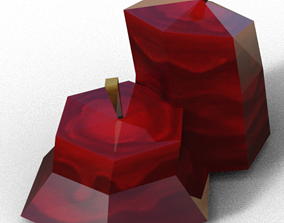 Candle flame 3D model realtime