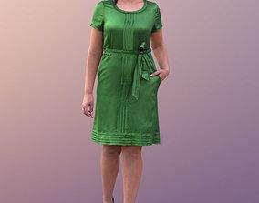 Amaya 10538 - Walking Elegant Woman 3D asset