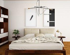 bedroom home interiordesign 3D model