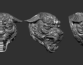 Panther Skull 3D print model