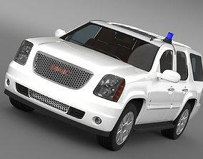 gmc GMC Denali FBI 3D model