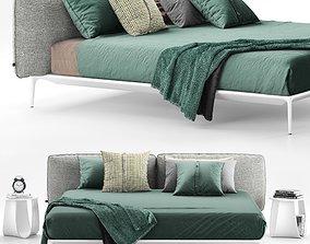MDF Italia Yale Bed 2 3D model