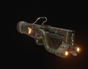 prop Hand Gun 3D
