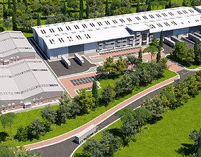 Industrial Park 3D model