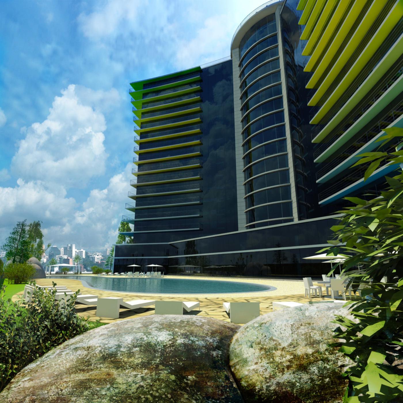The Amazonian Hotel Facades