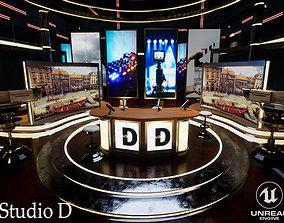 Studio D 3D model
