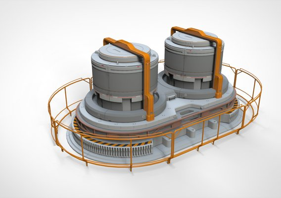 Sci Fi Modular Environment 7