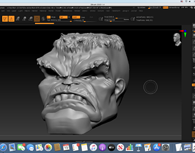 3D printable model Immortal Hulk Head