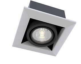 3D Downlight Metal Modern DL008-2-01-W Maytoni Technical