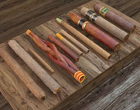 3D Eleven Cigars Pack