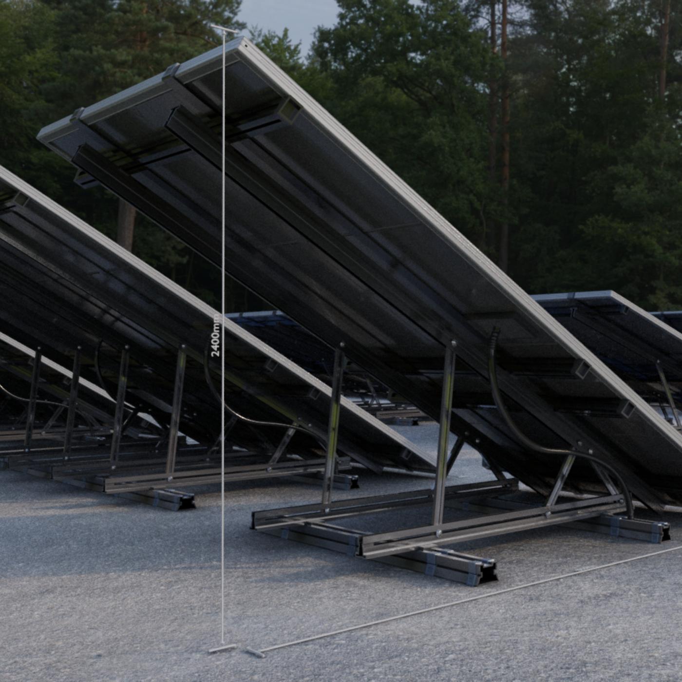 Low-Poly Solar Panels - Blender-2.93
