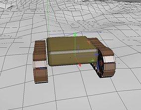 3D animated Mini tank