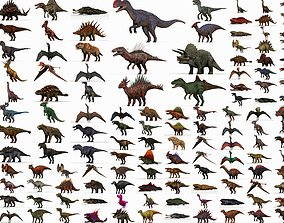 3D asset Collection 150 Dinosaur