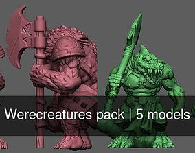 3D Werecreatures pack