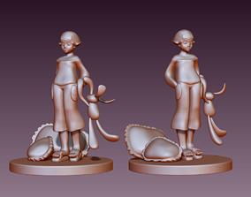 Bed Time figurine 3D print model