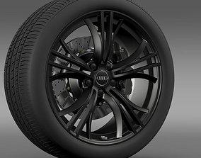 3D Audi R8 V10 plus 2013 wheel