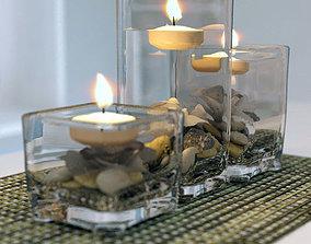 3D decorative candles