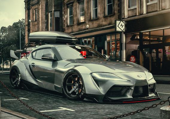 Toyota Supra 2020 In Forza horizon 4