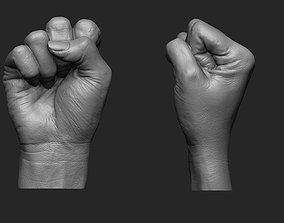 Female Fist Printable