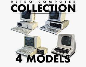 Retro Computer Collection volume 1 3D model