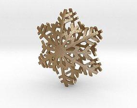 3D print model decor Snowflake Star