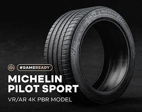 3D model Michelin Pilot Sport Tire 4K PBR