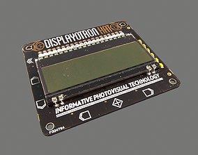 Display O Tron Hat Circuit Board 3D model