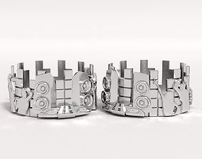 ring disco 3D printable model