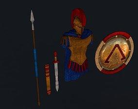 3D model Sparta Armor