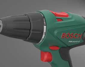 Cordless drill screwdriver Bosch PSR 14 4 LI 2 3D model