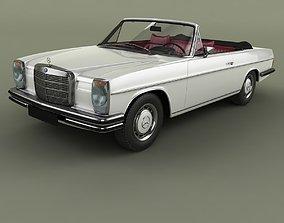 3D model Mercedes-Benz W114 Convertible