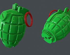 3D print model Mills bomb No 36M grenade