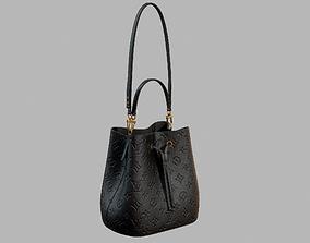 3D model Louis Vuitton Neonoe MM Bag Monogram Empreinte 1