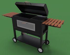 BBQ grill 3D