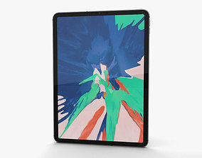 Apple iPad Pro 11-inch 2018 Space Gray 3D