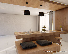 3dnikmodels kitchen Counter 01