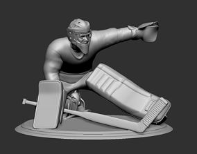 Hockey Player goalie 7