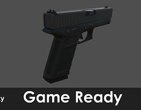3D model Glock 17 pistol
