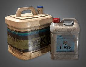Glue Bottles TLS - PBR Game Ready 3D model