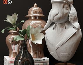 3D flower Decorative set