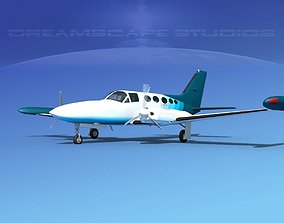 Cessna 414 Chancellor V11 3D model
