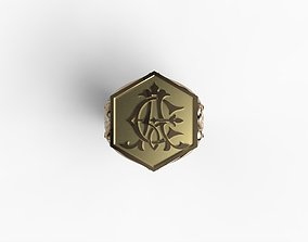 Chevalier AE monogramma 3D