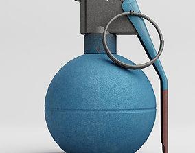 3D model M67 Training Grenade