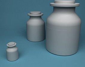 3D model Spice Jars