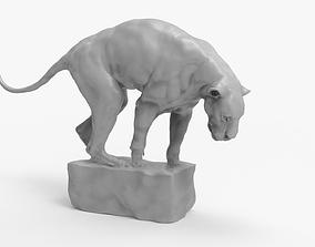 3D printable model Panther Puma Sculpture