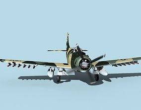3D Douglas A-1H Skyraider V12 USAF