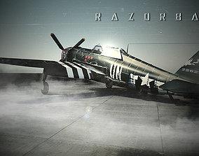 3D model P-47 Razorback Thunderbolt