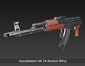 3D Kalashnikov AK-74