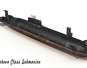 Submarine 941 3D